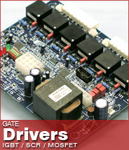 IGBT and SCR Gate Driver Boards